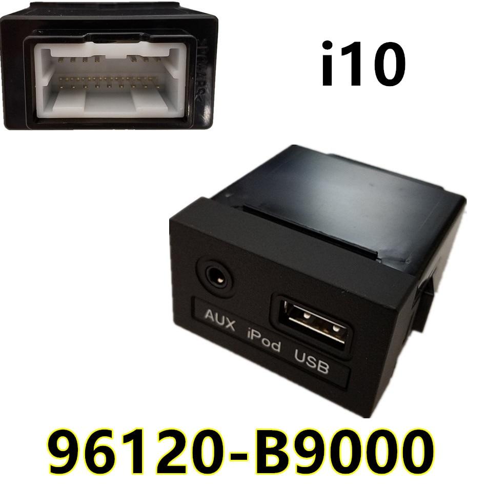 Oem Genuine Usb Reader Ipod Aux Port Adapter For Hyundai: Genuine OEM 96120B9000 USB Reader IPod AUX Port Adapter