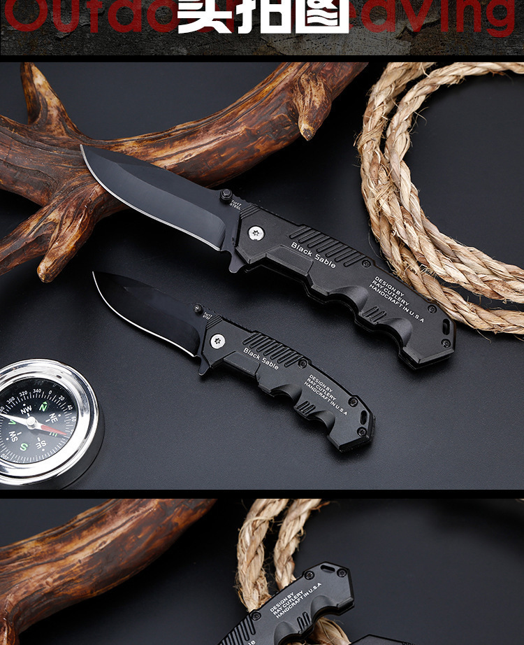 Folding Tactical Knife For Camping & Hunting 13