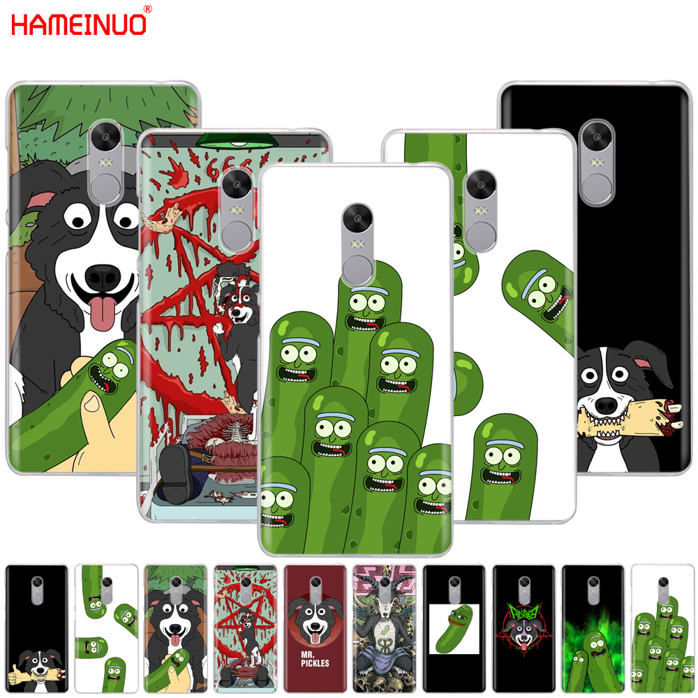 790efe33763b HAMEINUO mr pickles cucumber rick meme Cover phone Case for Xiaomi redmi 5  4 1 1s 2 3 3s pro PLUS redmi note 4 4X 4A 5A-in Half-wrapped Case from  Cellphones ...