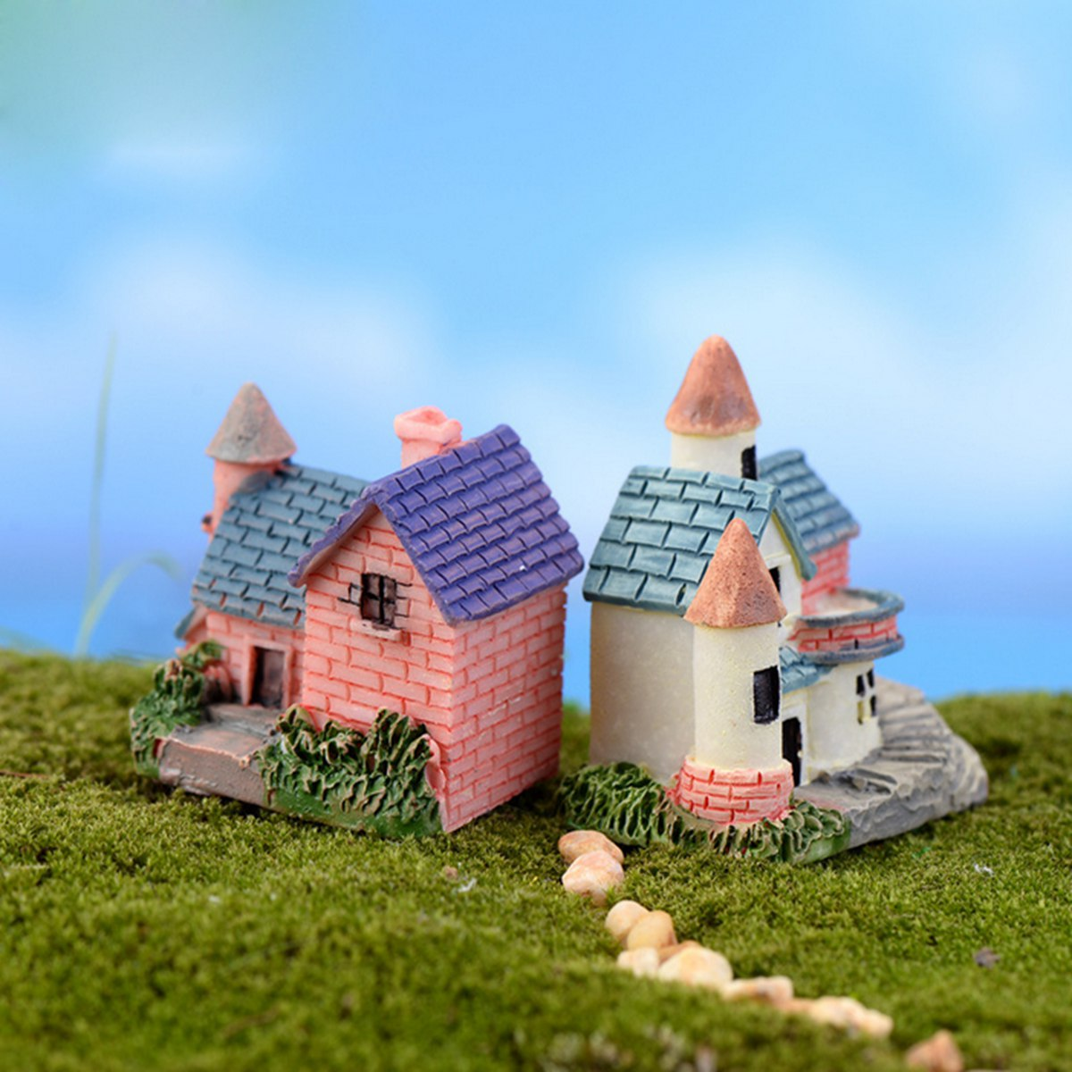 Resin Crafts DIY House Ornament