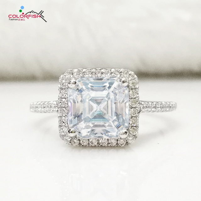 asscher cut diamond ring platinum in rings baguettes tcw wedding and trapezoids engagement actrptbwg engagementdetails cfm