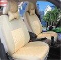 (2 Frente) Assento de carro Capas Para Todos ASSENTO apenas 2 Frente Tampa de Assento Do Carro Cobre + 3D Material de Seda Respirável