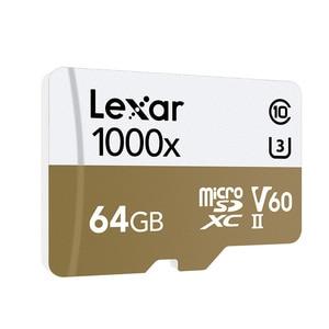 Image 3 - Lexar tarjeta micro sd card 64gb SDXC 150MB/S memory card U3 class 10 car TF flash carte SD card reader for Gopro Sports camera