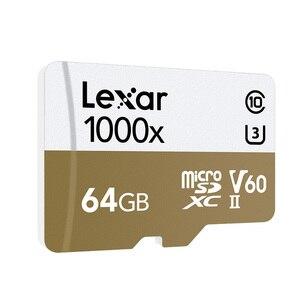 Image 3 - レキサー tarjeta micro sd カード 64 ギガバイト sdxc 150 メガバイト/秒メモリカード U3 クラス 10 車 TF フラッシュアラカルト SD カードリーダー移動プロスポーツカメラ