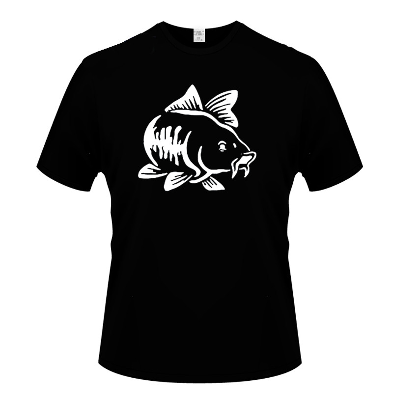 Carp Fish T-shirt Fishings Ruined My Life 2019 Summer Cool Men'S Short Sleeve T-shirt Casual Cotton Tees Tops