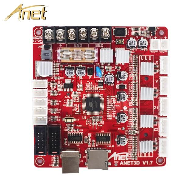 1PCS Anet 3D Printer Control board for Anet A8 & A6 & A3 & A2 3D Printer Reprap i3 3D Printer Parts Mother board 4 colors