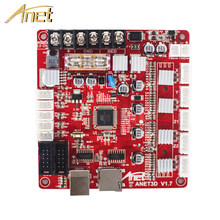 1PCS Anet 3D Printer Control board for Anet A8 & A6 & A3 & A2 3D Printer Reprap i3 3D Printer Parts Mother board 4 colors(China)