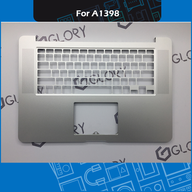 New Upper top case Topcase US Layout For Macbook Pro Retina 15 A1398 Palmrest Replacement 2013