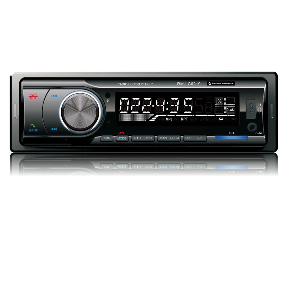 Prix pour Livraison Gratuite Voiture Stéréo Bluetooth Audio Musique MP3 Lecteur FM SUIS Radio Entrée Aux Récepteur SD USB 4x45 W Universel Lecteur LC6219