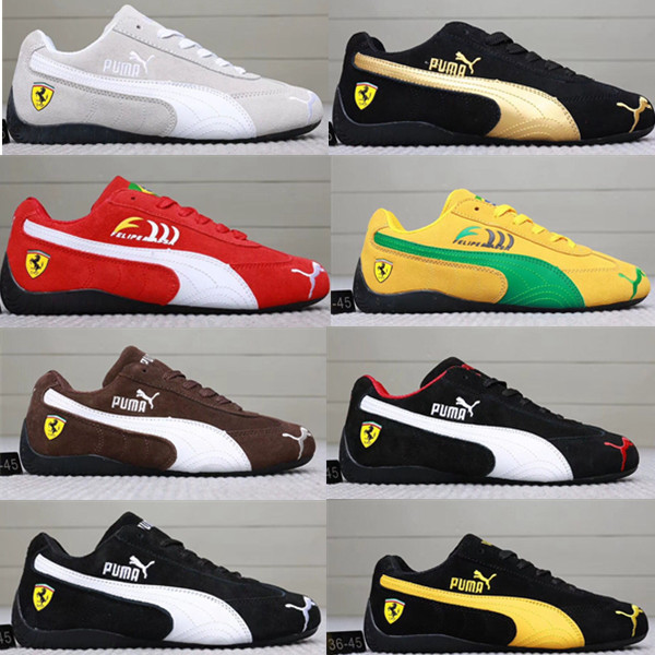 31bb982e2736 Original Puma Badminton Shoes SF Future Cat Kart Driving Athletic Shoes  Unisex Lace-up Anti