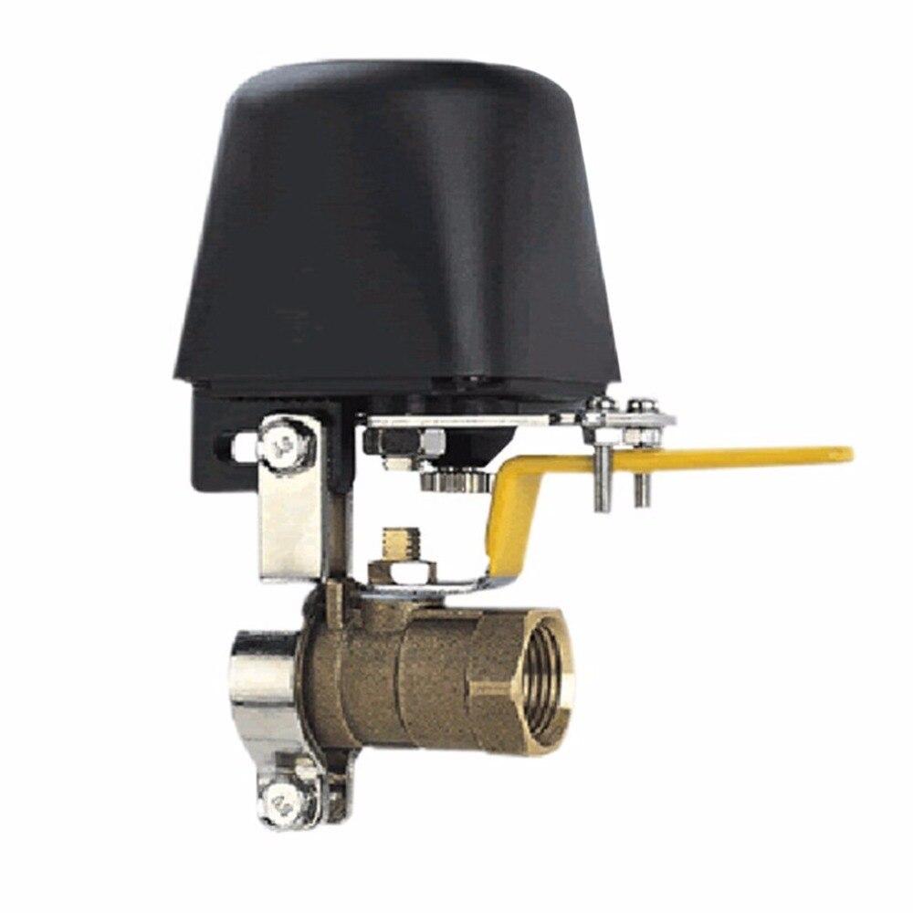 NOVO Manipulador Automático Shut Off Valve DC8V-DC16V Para Alarme de Desligamento do Encanamento De Água A Gás Dispositivo de Segurança Para Kitchen & Bathroom