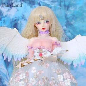 Image 3 - Fairyland FairyLine Lucywen bjd sd кукла 1/4 FL MSD тело фигурки из смолы модель девушка глаза высокое качество игрушки магазин OUENEIFS
