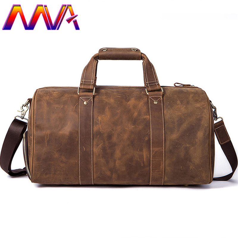 MVA Quality leather men travel bag of quality cow leather travelling shoulder bag with 100% genuine leather men travel bags mva best quality cowhide leather men backpack for fashion travelling bag with genuine leather men backpack or crossbody bags