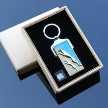 โลหะพวงกุญแจรถชาร์จusbเบาwindproofอิเล็กทรอนิกส์จุดบุหรี่ส่วนบุคคลตัวอักษร