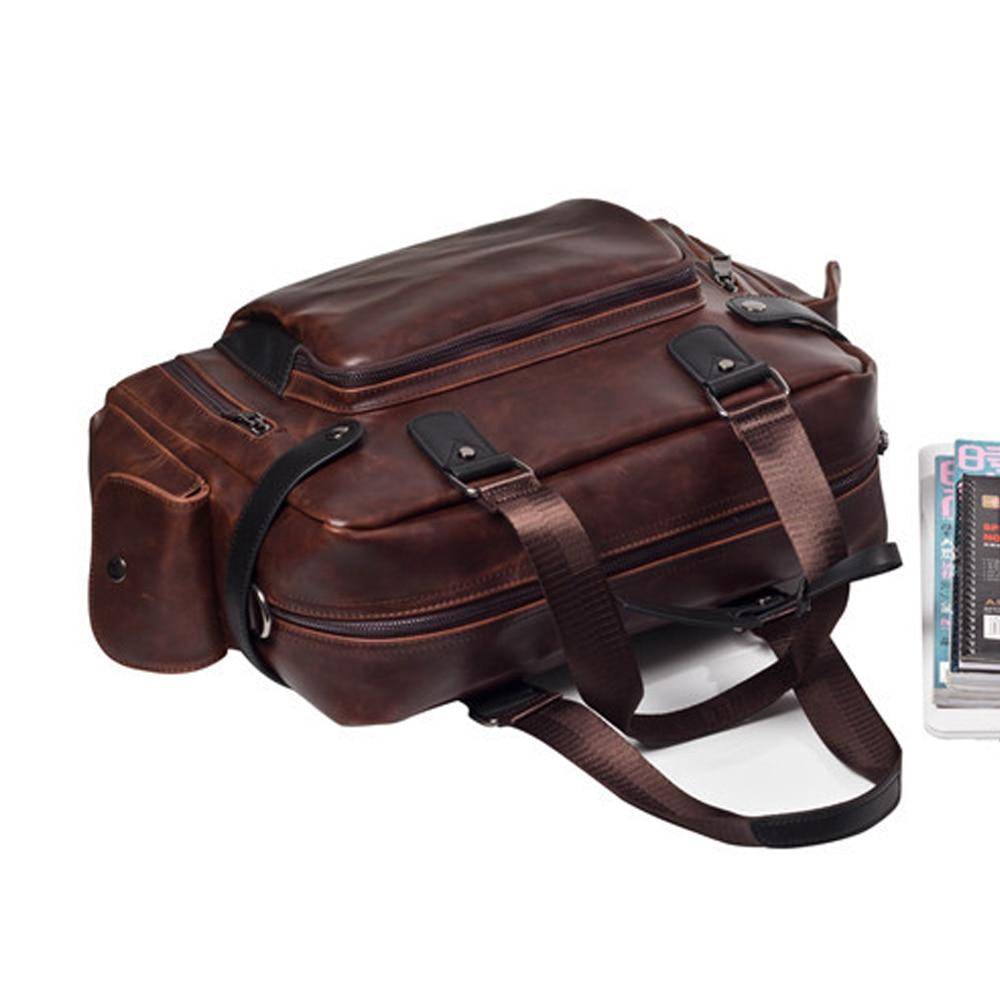 de cavalo louco bolsa do Modelo Nº : Men's Messenger Bag Men's Travel Bag Business Estilo