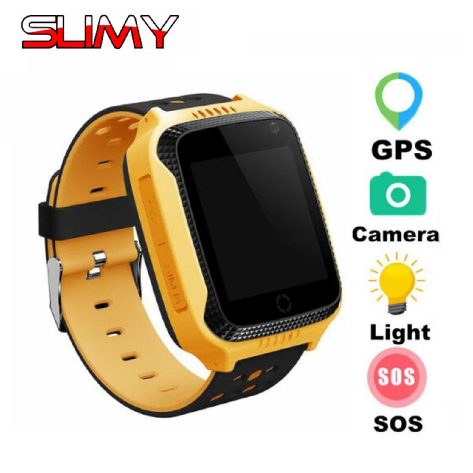 Slimy Q528 GPS Smart Watch Kids Camera Baby Smartwatch
