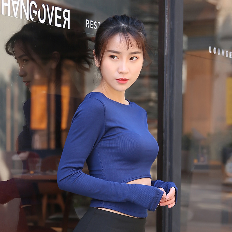 Women Sport T Shirt Full Sleeve Yoga Top Quick Dry Fitness Clothing Gym Top Outdoor Running Jogging Shirts Activewear