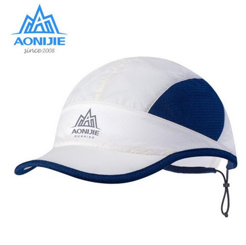 AONIJIE Men Women Outdoor Sports Running Caps Hat Sunshade Breathable UV Protection For Marathon Running Hiking Cycling