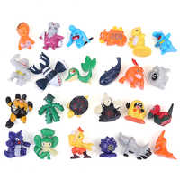 144pcs Not Repeat Pikachu action figure pokemon charizard figurine figuras Japanese Pocket Monster toys for children 2-3cm