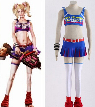 Lollipop chainsaw juliet outfits you were