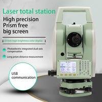 חדש LETER ATS-120A צבע מסך Reflectorless תחנת סך הכל