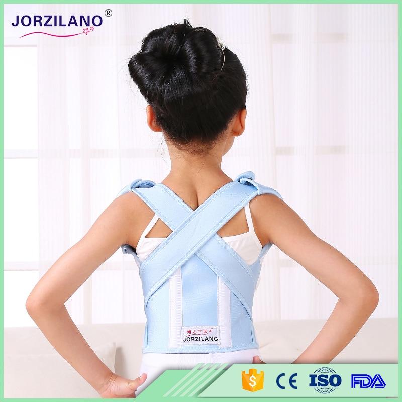 Children Health Spine Support Belt Posture Corrector Correction Slouch Orthosis Corset Back Shoulders Support Belt For Waist  back posture correction belt for children beige