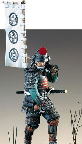 Resin Kits  1/ 32 54mm Japanese Warrior . Period 54mm   Soldiers Resin Model DIY TOYS Resin Figure New