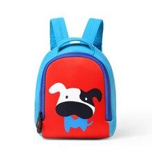 Del Cabrito Del Niño de Mochila para la Muchacha Del Muchacho Impermeable 3D Animal de la Historieta Backpack el Bolso de Escuela de Kindergarten Bebé Bolsa