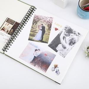 Image 3 - סרט דביק DIY Scrapbook אלבום תמונות חג אהבת מתנות חתונה ספר אורחים קרפט נייר יום נישואים נסיעות זיכרון גלרית