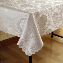 All size Embroidered Jacquard Rectangular tablecloth tableclothes Round for Wedding Party banquet Hotel dining home Decoration