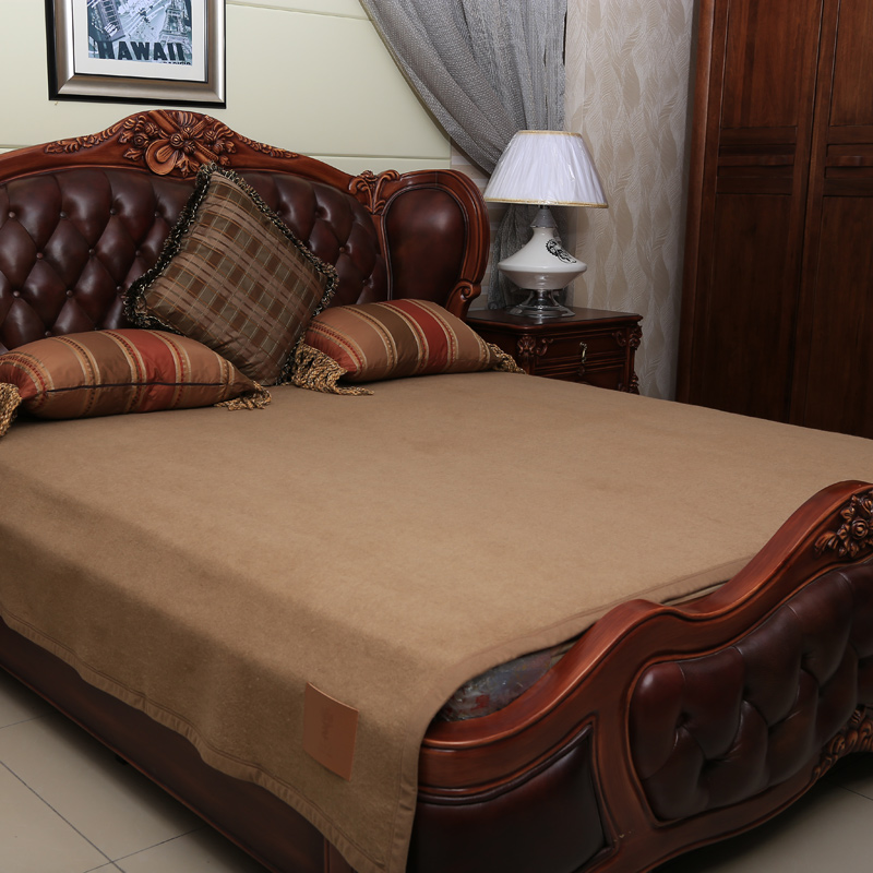 High Quality Camel Wool And Cotton Blanket Home Or Level Hotel Double Size Blankets Export To An Ckbsrt In From Garden