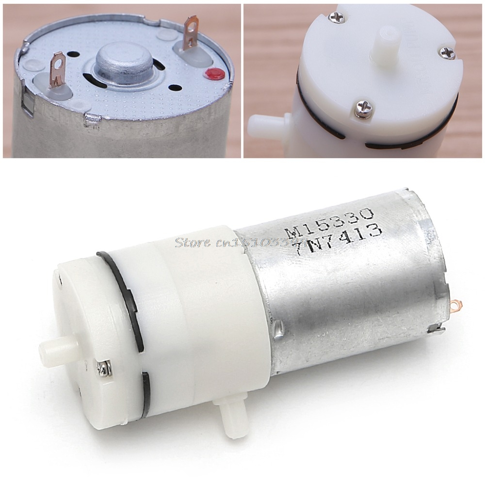 DC 12V Electric Micro Vacuum Air Pump Booster For Medical Treatment Instrument Pumps Accessories Drop Ship