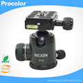 "Gimbal Swivel Panoramic DSLR Camera Tripod Monopod Ball Head  Light Weight BallHead with Quick Release Plate 1/4""UNC Screw"