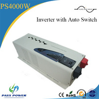 off grid dc ac power inverter 4000w with auto switch for grid power