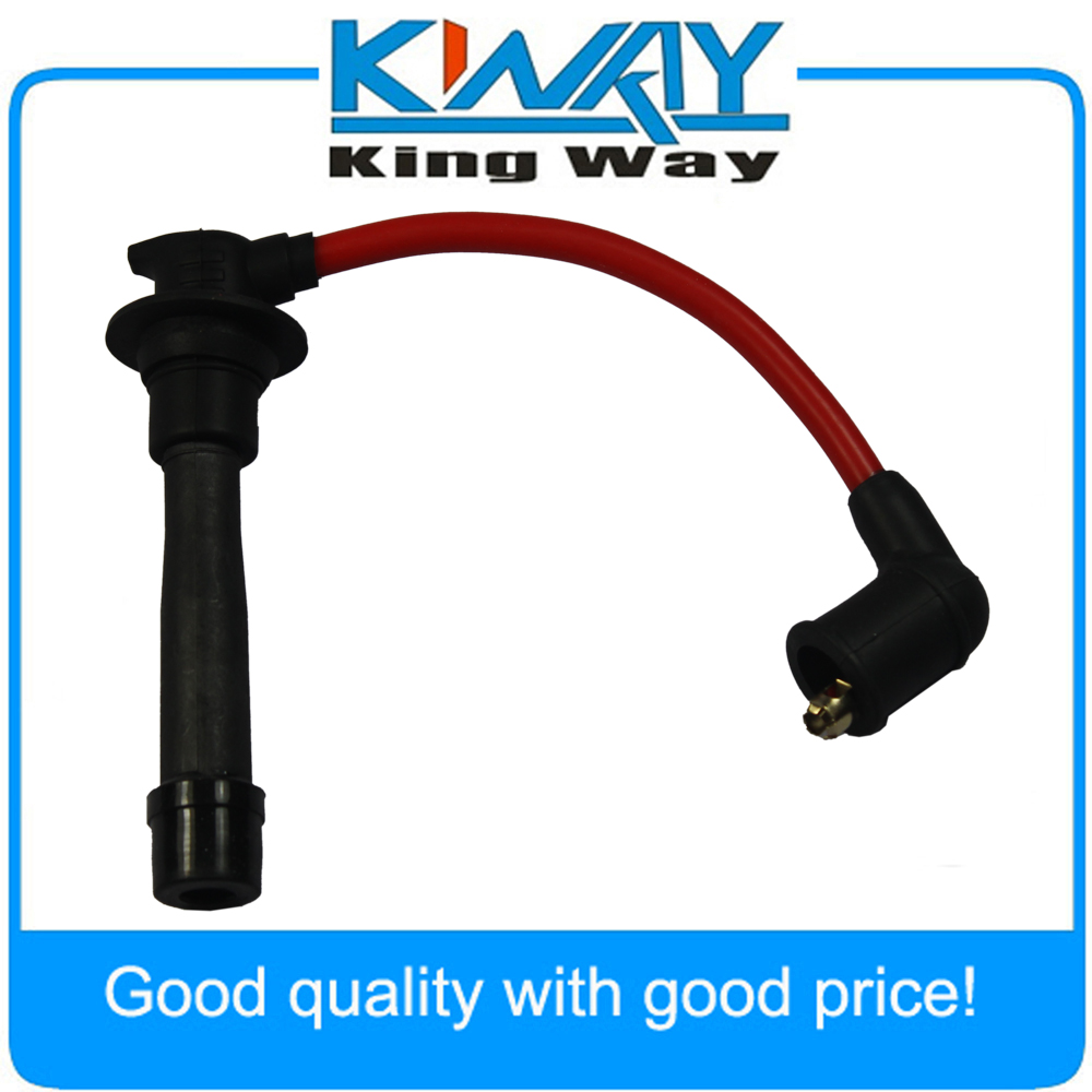 Set of 4 PCS Red Ignition Spark Plug Wires Set Fits for Mazda Miata Miata Plug Wires on miata oil pan, miata heads, miata wiring harness, miata crank sensor, miata throttle body, miata radiator, miata starter, miata fuel pump, miata wheels, miata coil on plug,