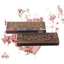 12 colors  Eye Shadow Matte Shimmer Natural Pressed Powder Professional shadow Long-lasting Palette Makeup shadows