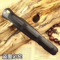 Ebony purple Tan Guqin lying censer / MAHOGANY / sandalwood incense incense furnace line a wood burner box