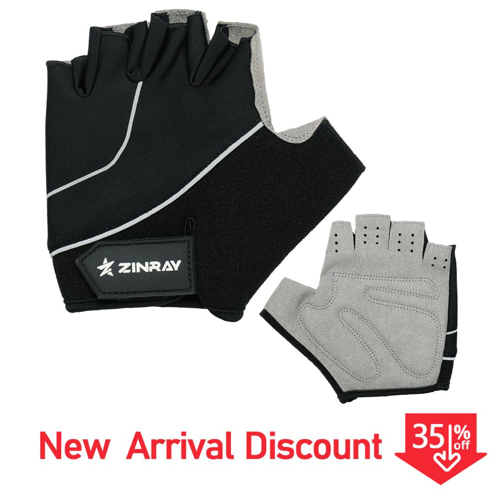 ZINRAY Half Finger Cycling Gloves Anti Slip Gel Pad For Specialized MTB Bike Bicycle Gloves Guantes Ciclismo Men Women S-XL