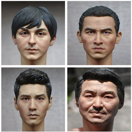 1/6 Scale Male Head Sculpt European American Men Head Carving for 12 inches Action Figures фигурка героя мультфильма 1 6 12 head sculpt