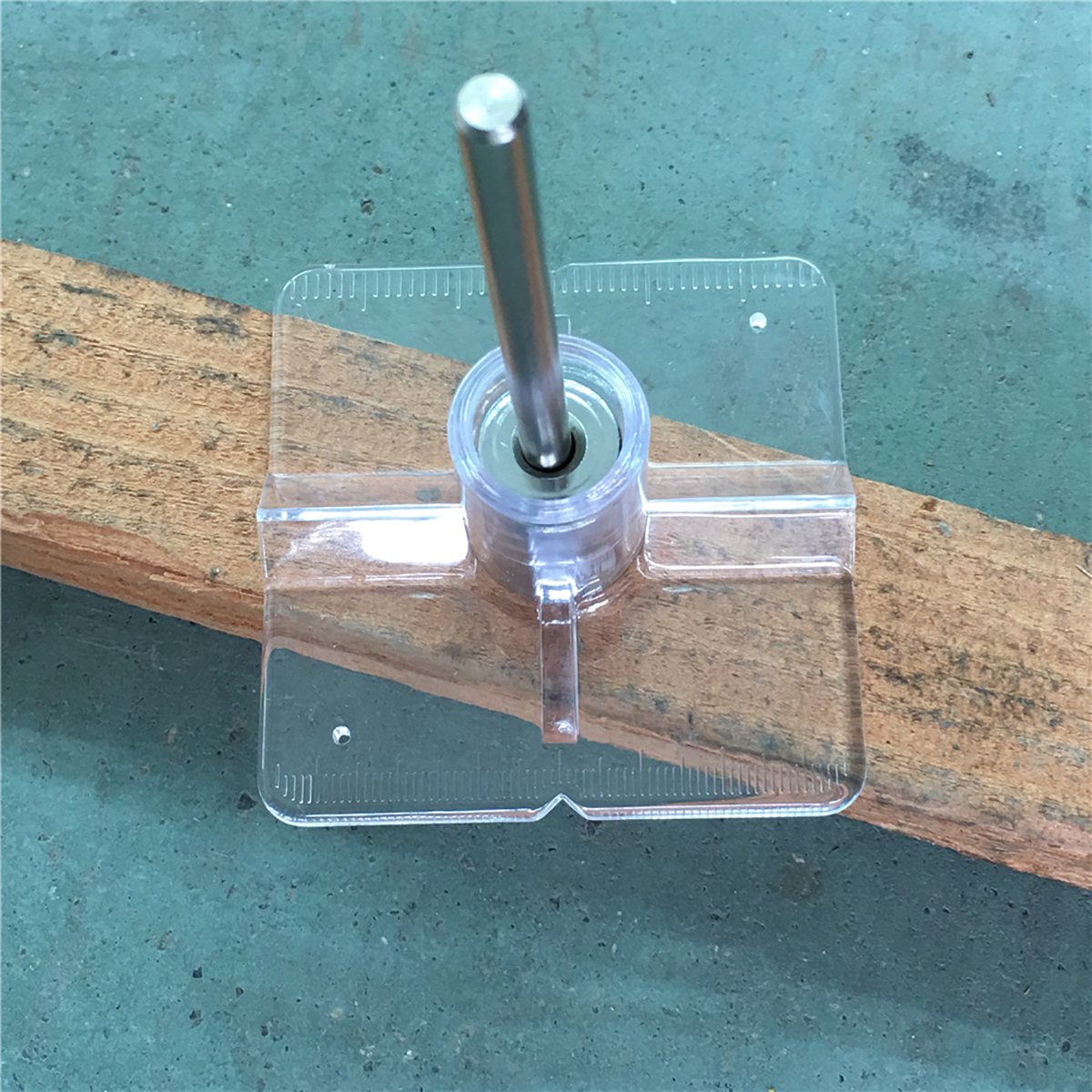 New Woodworking Drilling Locator Mini Pocket Hole Drill Dowel Jig ...