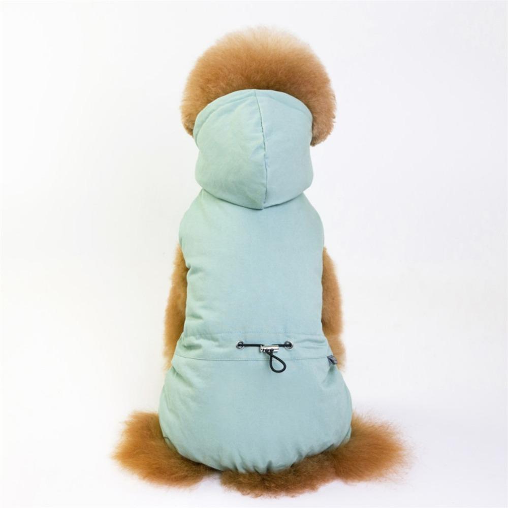 Cálido abrigo para cachorros y perros pequeños 7