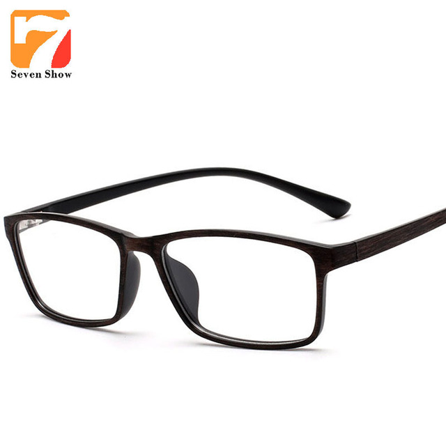 718467312f9 Ultra Light Imitation Wood Eyeglasses Vintage TR90 Glasses Frames Men Clear  Lens Computer Glasses Frame Male