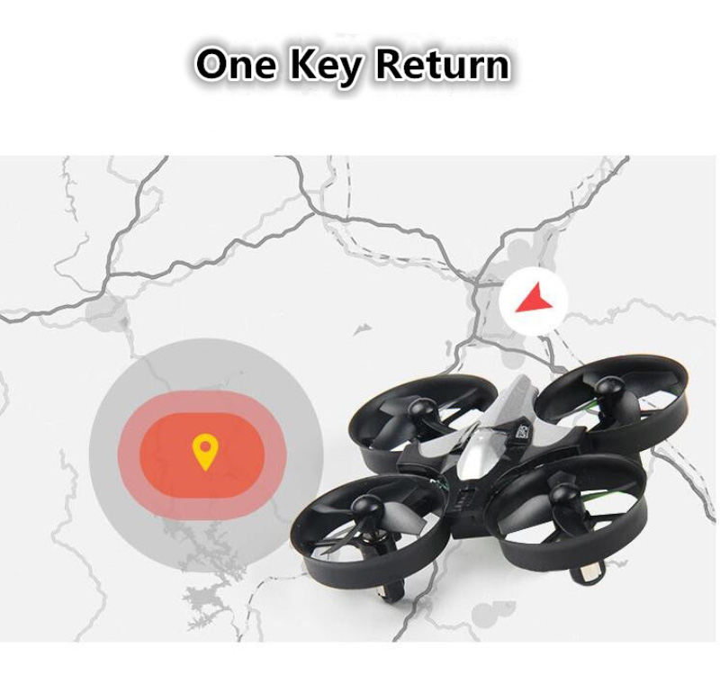 Global Drone Quadrocopter Micro Drone 6 Axis Gyro 4CH RC Helicopter Headless Mode Pocket Dron Toys For Boys Mini Drone (3)
