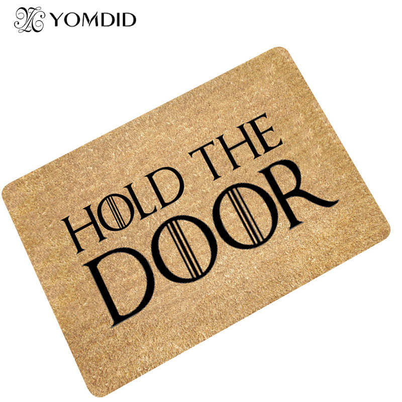 Simple fashion modern door mat absorbent non-slip Bathroom Kitchen stair Carpets Doormats rug for Living Room home decor
