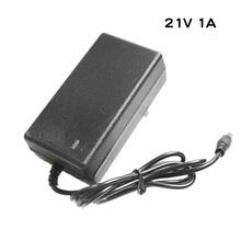 Chargeur de batterie au Lithium 21 V 1A pour chargeur de batterie au lithium polymère série 5 21 V avec lumière LED