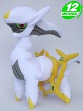Free Shipping 12″/30cm Pokemon Arceus Plush Toys Soft Anime Stuffed Toys Cosplay Dolls For Kids Gifts