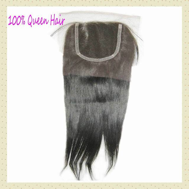 """8A Gorgeous Filipino lace closure unprocessed virgin straight hair 10""""-20""""inch Soft Silky WestKiss RAW hair"""