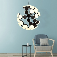 GZMJ LED Pendant Lamp Nordic Post Modern Parlor Light Creative Personality Art Home Style Design for Living Room Bedroom Bar