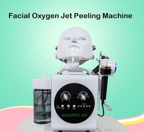 2019 High Quality Hydrating And Nourishing Skin Peeling Wet Dry Machine Oxygen Injection Beauty Salon Devices For Moisturizin