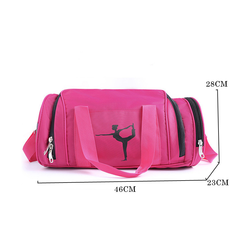 Yoga Mat Bag Fitness Gym Bags Sports Nylon Training Shoulder Sac De Sport For Women Gym Traveling Duffel Gymtas Sporttas Bag